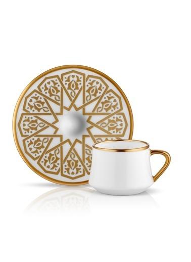 Koleksiyon Sufi Türk Kahvesi Seti 6'lı Selçuklu-Koleksiyon